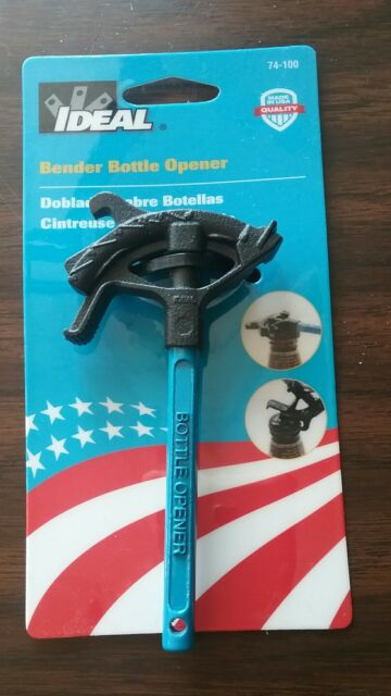 NEW Ideal Bender Bottle Opener 74-100