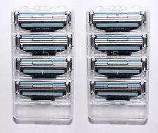 8 Gillette Mach 3 lamette da barba 8er MACH 3 ORIGINALE Lame Gilette NUOVO