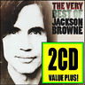 JACKSON BROWNE (2 CD) THE VERY BEST OF ~ GREATEST HITS ~ RUNNING ON EMPTY  *NEW*