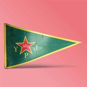 YPJ-Flagge-Antifaschistische-Auktion