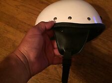 Mint 1960s 1968 Buco Ski Motorcycle 7 1/4 2 helmet neck Strap Shorty 500tx