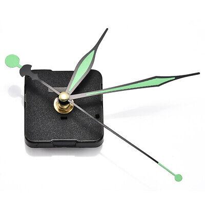 À faire soi-même Quartz Clock Movement Mechanism Hands Wall Réparation Outil Kit Pièces Silencieux Set