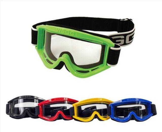 Dixon WSGG Enduro//Motocross Motorrad-Brille Schwarz Schutzbrille
