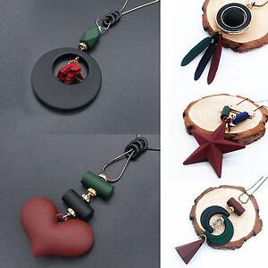 Women-Rhinestone-Crystal-Geometric-Pendant-Necklace-Long-Chain-Sweater-Jewelry