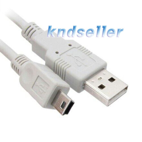 3m 10FT USB 2.0 A to Mini 5Pin Cable 5p B High quality data Sony Olympus KW