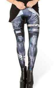 Robot-Mechanical-Mech-High-Tech-Soldier-Panel-Gear-Cosplay-Costume-Soft-Leggings