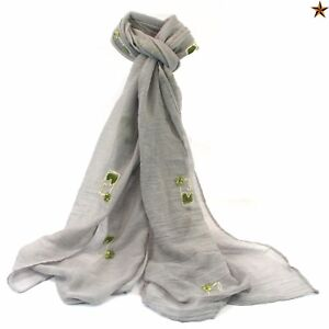 New-Gin-amp-Tonic-Scarf-White-Grey-G-amp-T-Womens-Gift-Idea-Christmas-Secret-Santa
