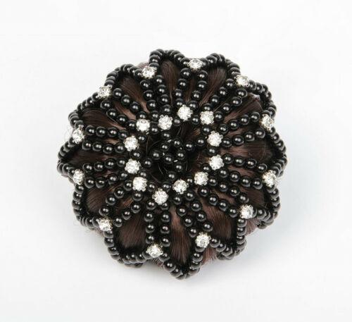 Harry/'s Horse Haarnetz Knotennetz Crystal 2 Farben elastisch Universalgröße