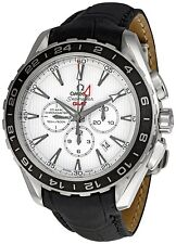 OMEGA Seamaster Aqua Terra GMT Gents Watch 231.13.44.52.04.001 - RRP £5770 - NEW