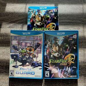 Star Fox Zero + Star Fox Guard (Nintendo Wii U, 2016) New Factory Sealed CIB