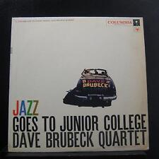 The Dave Brubeck Quartet - Jazz Goes To Junior College LP VG+ CL 1034 6i Mono