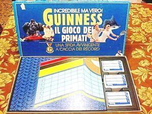 Gioco-in-scatola-GUINNESS-IL-GIOCO-DEI-PRIMATI-SCHMIDT-GIOCHI-1988-Completo