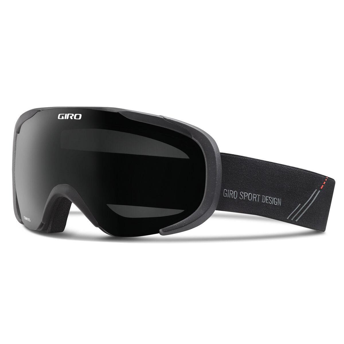 Giro Compass schwarz fabricator Skibrille verspiegelt Polarisation e