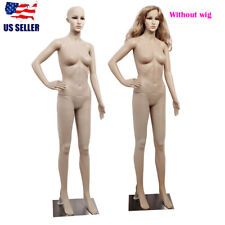 69 Female Mannequin Pp Realistic Display Full Body Head Turns Dress With Base Us