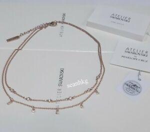 Details about ATELIER Swarovski Penélope Cruz Moonsun Double Necklace ROS  Crystal MIB 5486647