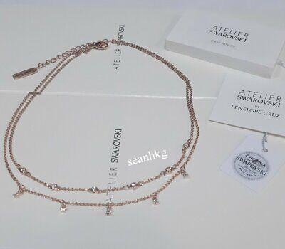 ATELIER Swarovski Penélope Cruz Moonsun Double Necklace ROS Crystal MIB  5486647 | eBay