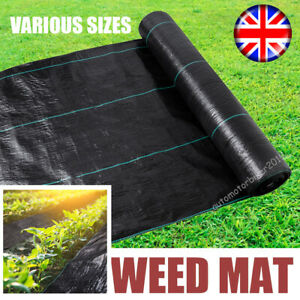 Heavy Duty Weed Control Fabric Mat Sheet Landscape Membrane Cover Barrier Block