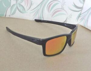 a229f73a32 Image is loading New-Oakley-Mainlink-Sunglasses-Matte-Black-Custom -Polarized-
