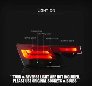 LH-amp-RH-BLACK-Smoke-LED-Tail-Light-Rear-Lamp-for-Honda-Accord-CP-2008-2012-RHD