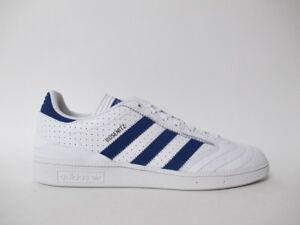 Adidas Busenitz White Royal Blue Pro Leather Sz 9.5 BY3971
