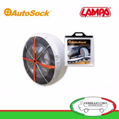Coppia Calze Neve Autosock furgoni e SUV Taglia 697 Gomme 235//55R18 307200980