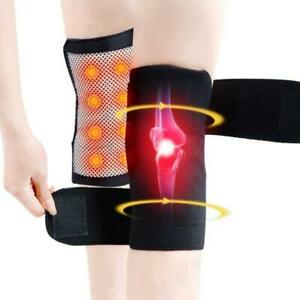 Self-Heating-Magnetic-Knee-Brace-Support-Pad-Thermal-Therapy-Arthritis-Protector