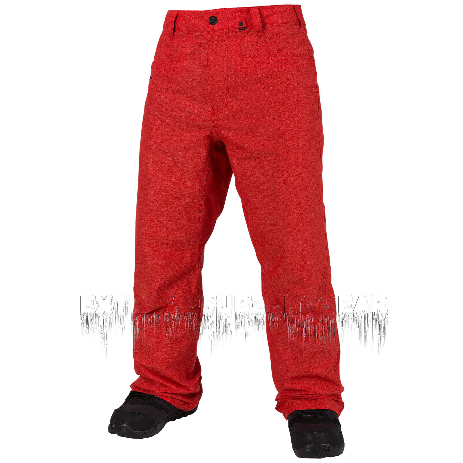 VOLCOM Mens 2018 Snowboard Snow CARBON PANT Fire Red   is discounted