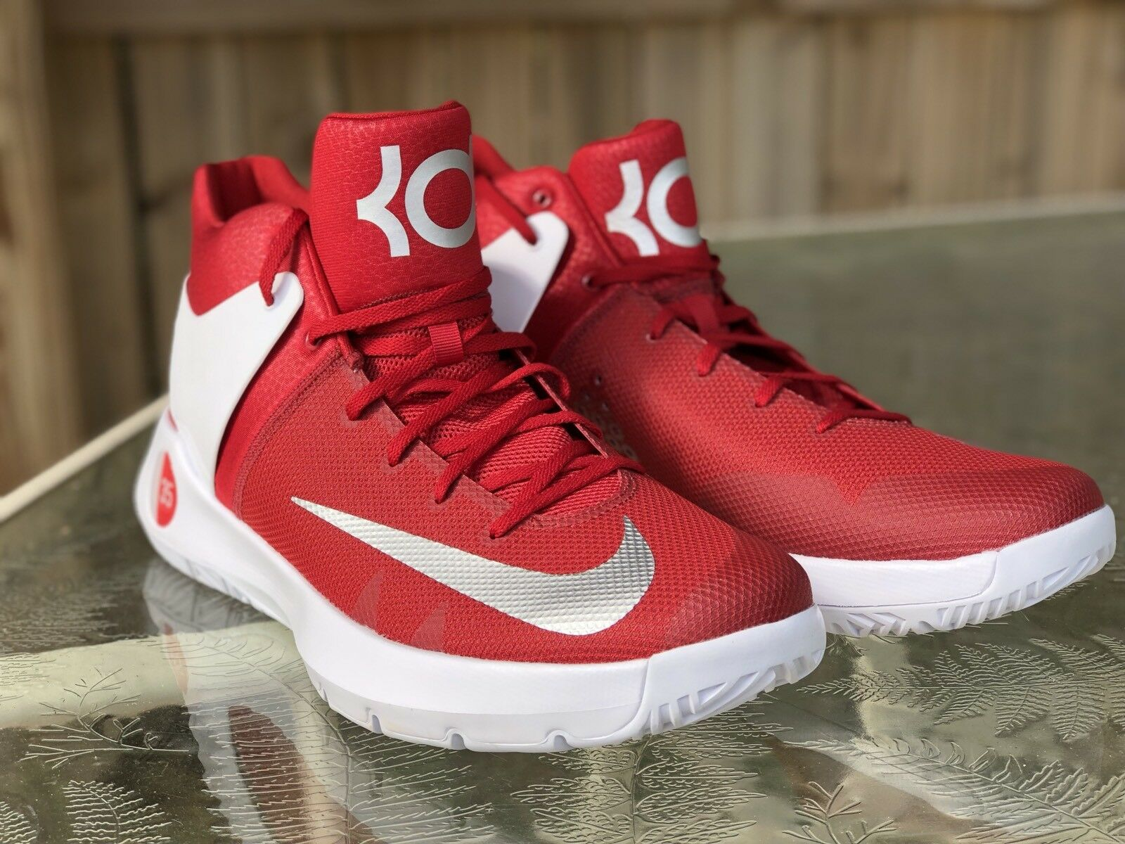 NWOB Red Nike Kevin Durant KD Trey 5 IV Basketball Shoes 856484-661 Mens Comfortable Great discount