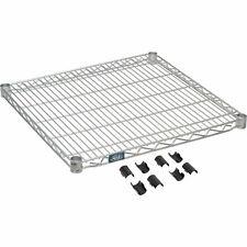 Nexel Nexelate Wire Shelf Withclips 24w X 24d