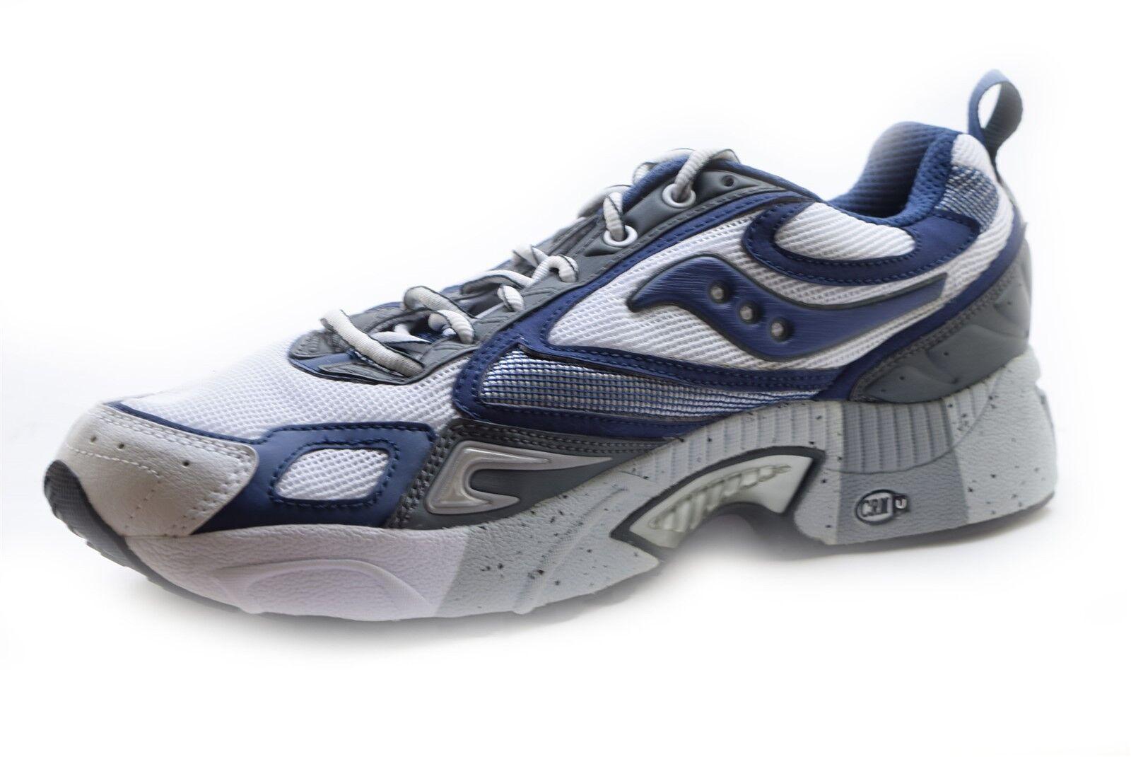 Saucony Men's Grid Omni 3 Running Shoes White/Navy/Grey Size 12.5 MED - NIB