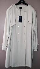 LADIES M&S COLLECTION JACKET - PLUS SIZE 30 CREAM / NATURAL - BNWT