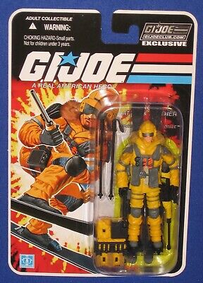 "NEW 3.75/"" GI Joe Collectors Club FSS 8.0 BLIZZARD Arctic Soldier FREE SHIP"