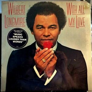 SEALED-Wilbert-Longmire-LP-With-All-My-Love-Columbia-36342-1980-BOB-JAMES