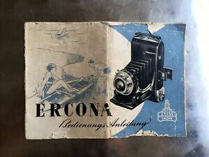 Zeiss-Ikon-ERCONA-Anleitung-Text-deutsch-Classic-Camera-STORE