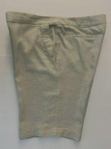 Twinkle Organic Linen Walking Bermuda Shorts Women