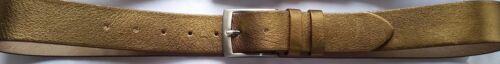 Ledergürtel,Silber oder Gold farbig Gürtel breit ca.4cm Vollrindleder NEU!
