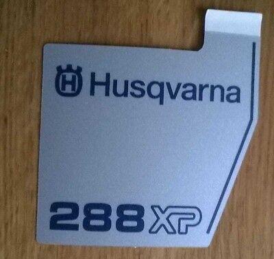 New Original Husqvarna OEM 288 xp COVER sticker decal 503709802