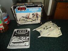 Vintage Star Wars ESB Rebel Armored Snowspeeder Rare Canadian Version!! Blue Box