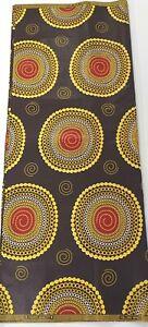 African Print. 6 YD environ 5.49 m Coloré Ankara Tissu