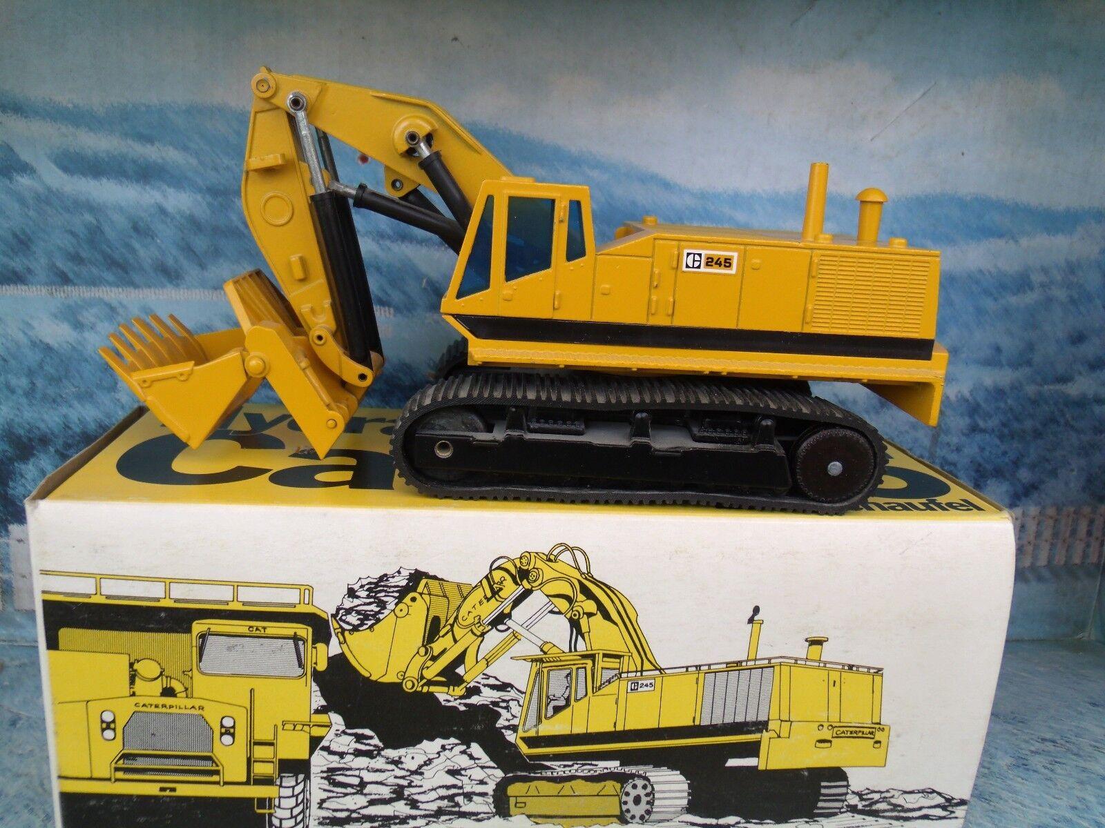 1 50 NZG (ALLEMAGNE) Caterpillar Excavateur hydraulique avant Pelle 245  177