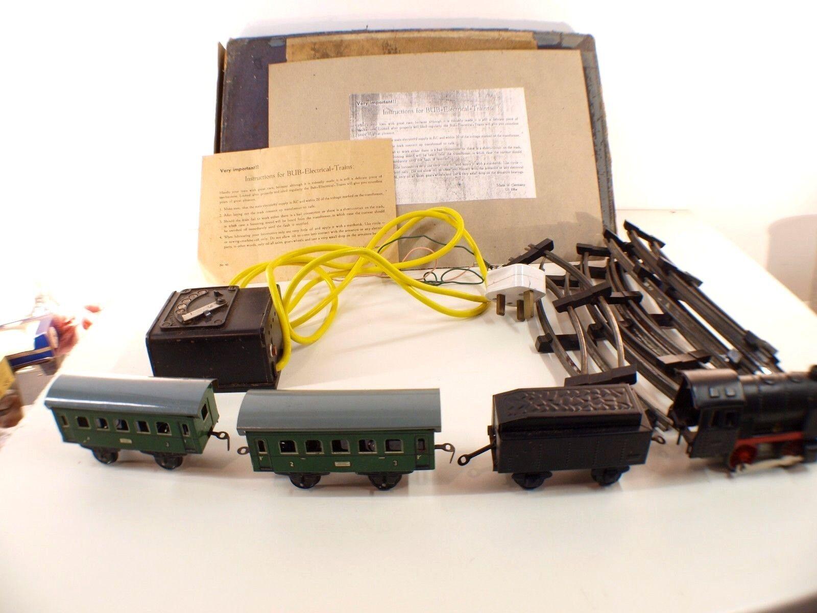 Bub Deutschland US Zone Schatulle Zug Elektrische Electric Tintoy Selten