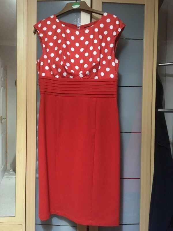 Linea Red Dress size 14