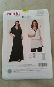 burda 7502 Misses/' Jacket and Dress 18 to 30 *Compare @ $9.99  Sewing Pattern