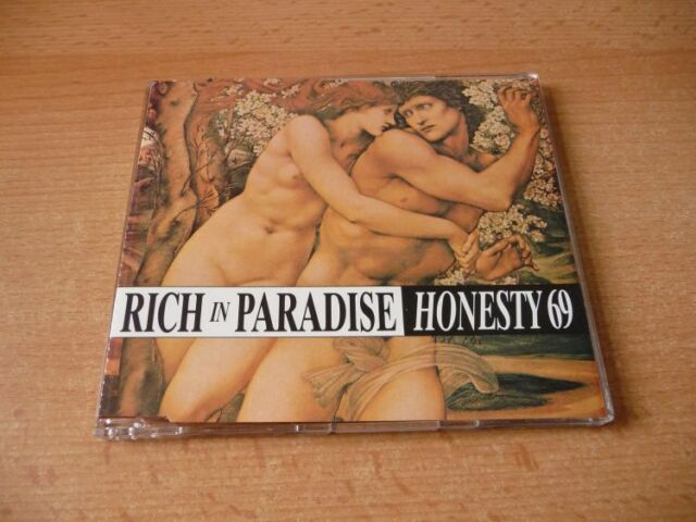 Maxi CD Honesty 69 - Rich in paradise - Kulthit