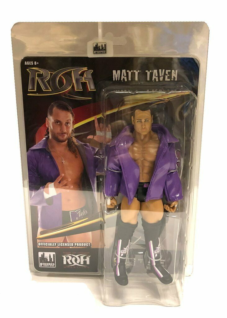 Official ROH - Ring Of Honor Series 3   Matt Taven Action Figure