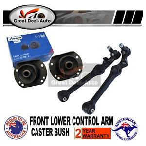 For-Commodore-VT2-VU-VX-VY-VZ-Front-Lower-Control-Arms-Ball-Joints-Caster-Bush