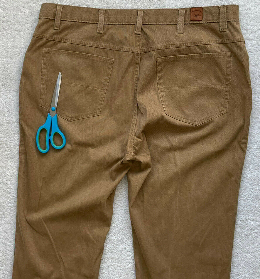 Bills Khakis Men Pleated Beige Cotton CORDUROY Ca… - image 3
