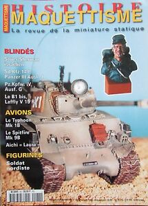 Modellino-Militare-WW2-Rivista-Histoire-Creazione-di-N-62-Veicoli-Corazzati