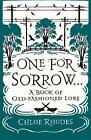 One for Sorrow von Chloe Rhodes (2016, Taschenbuch)