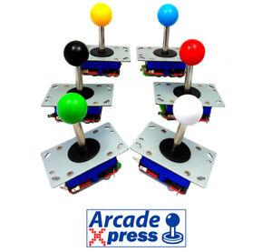 Joystick-Zippy-Arcade-Style-Japonais-Seimitsu-clone-Jamma-Noir-long-arbre-78mm